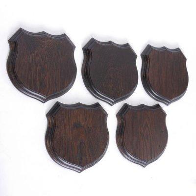 Wappenschild Keilerschild Wappenform Keiler Schild Wildschwein Trophäenschild